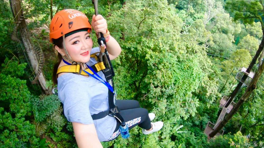 吉島行程推薦   頂級叢林飛索Hanuman World~體驗高空溜索一覽普吉島原始生態