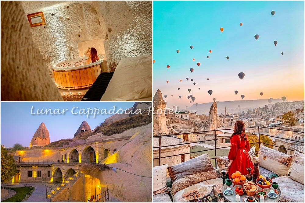 土耳其   洞穴飯店推薦Lunar Cappadocia Hotel卡帕多奇亞~這家有拍熱氣球網美陽台 人還不多!