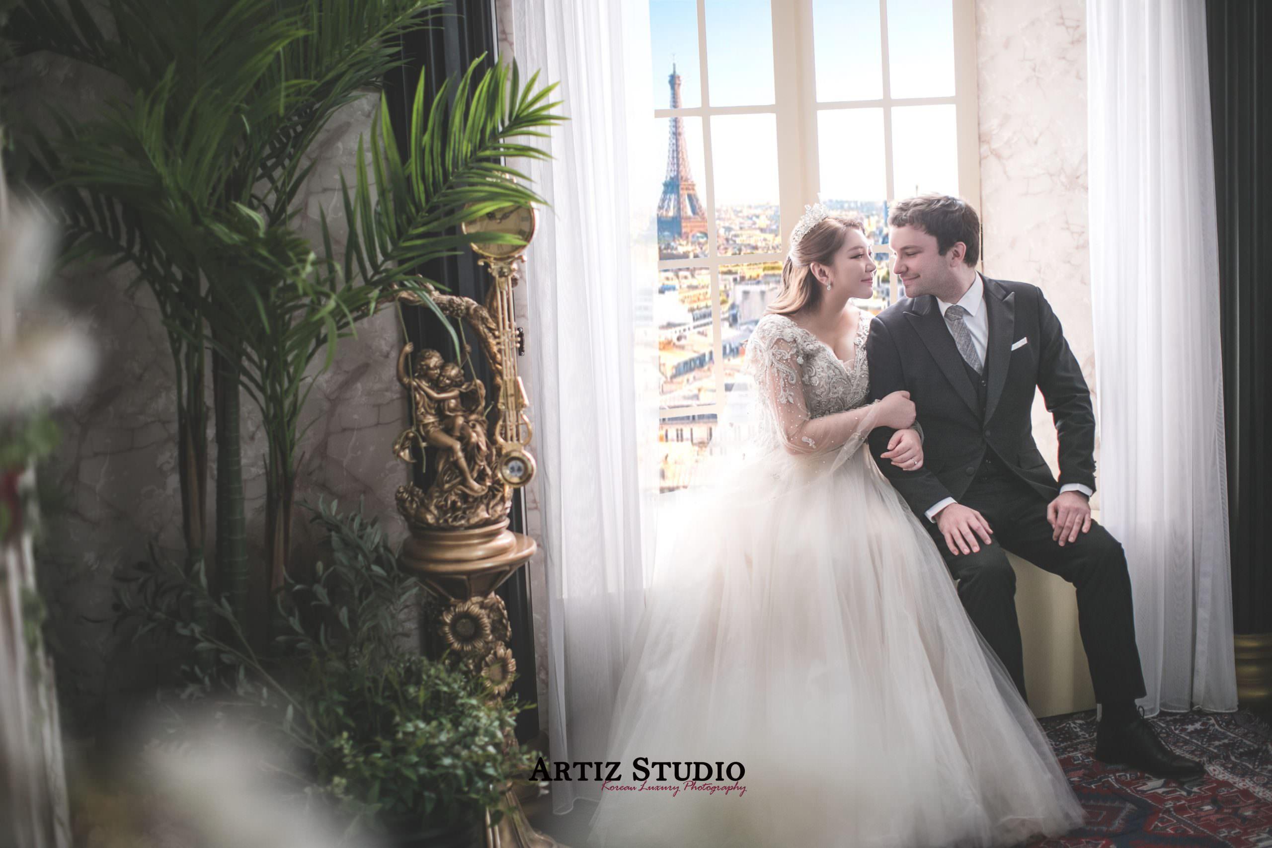 韓國藝匠 Artiz Studio~棉花糖女孩也可以嘗試的道地韓式婚紗(婚紗款式多且美到選擇障礙!)