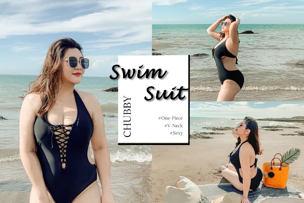 【開團中】中大碼連身泳衣大罩杯+一片式NuBra隱形內衣