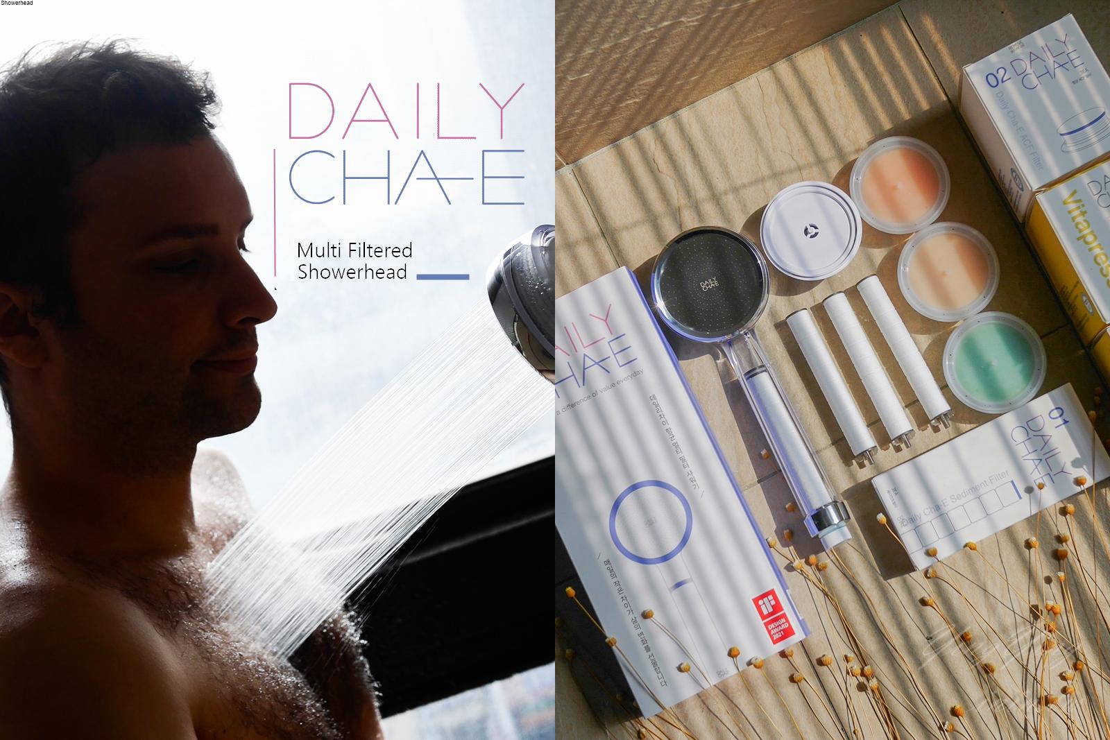 韓國DailyCha-E水潔淨抗菌加壓蓮蓬頭~真正的洗香香!(抗菌.增加水壓.可換香氛濾芯)