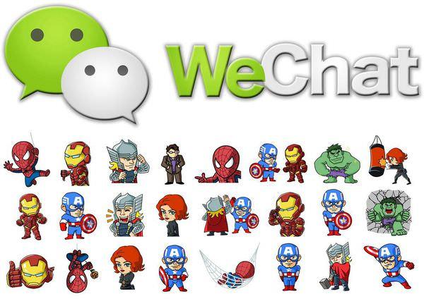 【3C】WeChat推出Marvel超萌英雄動態貼圖 限時免費下載~大家快載!