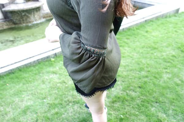 厚片女孩穿搭 喇叭袖 蝙蝠袖 秋冬穿搭